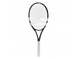 Tennisrackets - Tennisrackets heren - kopen - Babolat Evoke 105 tennisracket senior marine/wit/rood