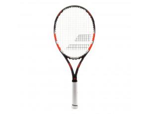 Tennisrackets - Tennisrackets heren - kopen - Babolat Flow Tour tennisracket senior grijs/rood
