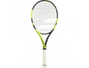 Tennisrackets - Tennisrackets heren - kopen - Babolat Pure Aero Team tennisracket senior zwart/geel
