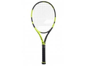 Tennisrackets - Tennisrackets heren - kopen - Babolat Pure Aero tennisracket zwart/lime