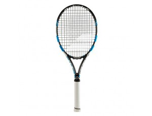 Tennisrackets - Tennisrackets heren - kopen - Babolat Pure Drive GT tennisracket senior wit/blauw/zwart