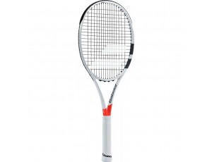 Tennisrackets - Tennisrackets heren - kopen - Babolat Pure Strike Team tennisracket wit/rood