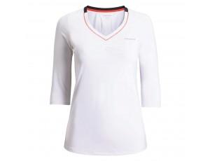 Tenniskleding - Tenniskleding dames - kopen - Björn Borg Tanu tennisshirt dames wit
