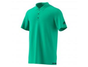 Tenniskleding - Tenniskleding heren - kopen - adidas Climachill tennispolo heren groen