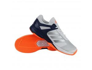 Tennisschoenen - Tennisschoenen heren - kopen - adidas Adizero Court tennisschoenen heren wit/marine/oranje