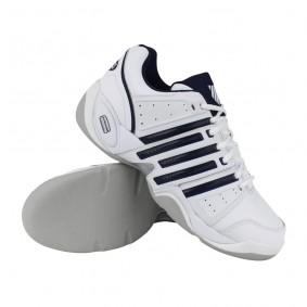 Tennisschoenen - Tennisschoenen heren - kopen - K-Swiss Accomplish II LTR carpet tennisschoenen heren wit/marine