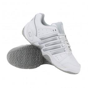 Tennisschoenen - Tennisschoenen dames - kopen - K-Swiss Accomplish II LTR Omni tennisschoenen dames wit/zilver