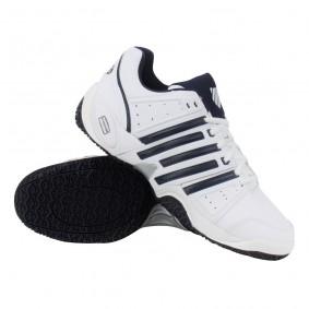Tennisschoenen - Tennisschoenen heren - kopen - K-Swiss Accomplish II LTR Omni tennisschoenen heren wit/marine