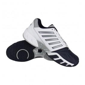 Tennisschoenen - Tennisschoenen heren - kopen - K-Swiss Bigshot Light 3 Omni tennisschoenen heren wit/marine