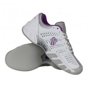Tennisschoenen - Tennisschoenen dames - kopen - K-Swiss Bigshot Light Carpet tennisschoenen dames wit/grijs