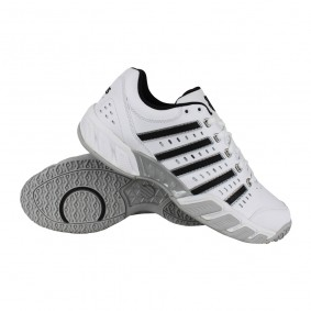 Tennisschoenen - Tennisschoenen heren - kopen - K-Swiss Bigshot Light Omni tennisschoenen heren wit/zwart