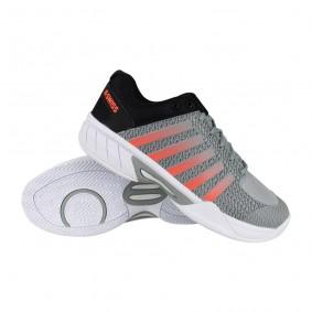 Tennisschoenen - Tennisschoenen heren - kopen - K-Swiss Express Light tennisschoenen heren grijs/zwart/oranje