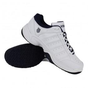 Tennisschoenen - Tennisschoenen heren - kopen - K-Swiss Grancourt III Omni tennisschoenen heren wit/marine