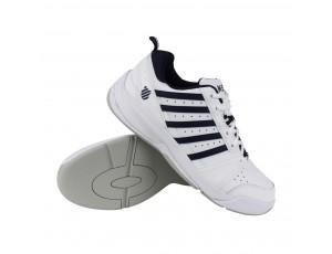 Tennisschoenen - Tennisschoenen heren - kopen - K-Swiss Vendy II carpet tennisschoenen heren wit/marine