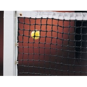 Tennisnetten - kopen - Tennisnet dubbel 3 mm – Zwart