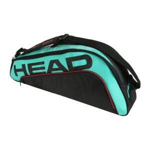 Head Tour Team Pro tennistas 3 rackets zwart/petrol -