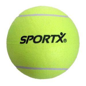 4x stuks Jumbo super grote tennisballen XXL -
