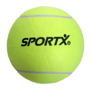 5x stuks Jumbo super grote tennisballen XXL -