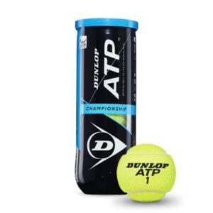 Dunlop ATP Championship tennisballen 3tin geel -