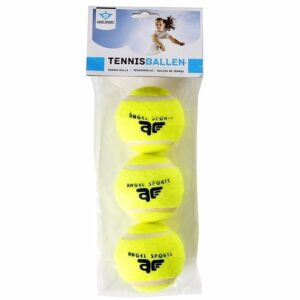 3x Speelgoed tennisballen voor honden - Dierenspeelgoed -