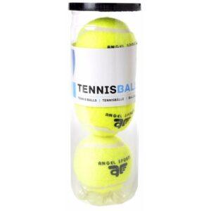 3x Tennisballen in koker -