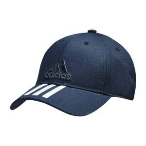 adidas 3-stripes Classic cap marine/wit -
