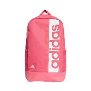 adidas Linear Performance rugtas unisex roze/wit -