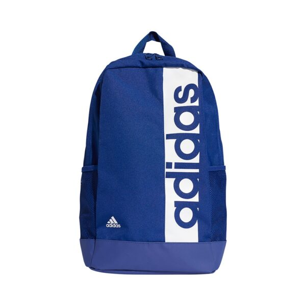 adidas Linear Performance rugtas unisex blauw/wit -