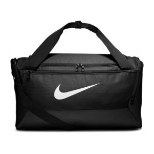 Nike Brasilia Small Duffel sporttas zwart/wit -