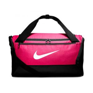 Nike Brasilia Small Duffel sporttas roze/zwart -
