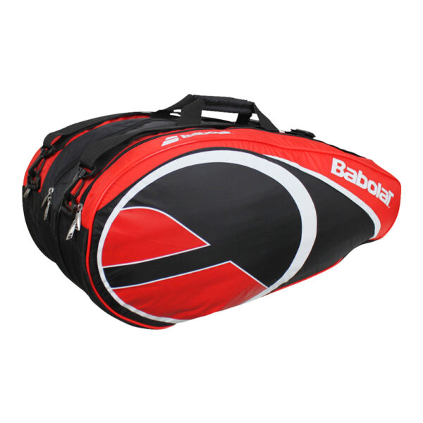 Babolat Club Tennistas 12 Rackets zwart/rood -