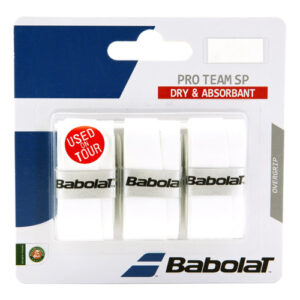 Babolat Pro Team SP overgrip wit 3 stuks -