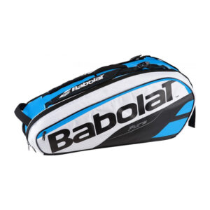 Babolat Pure tennistas 6 rackets zwart/blauw/wit -