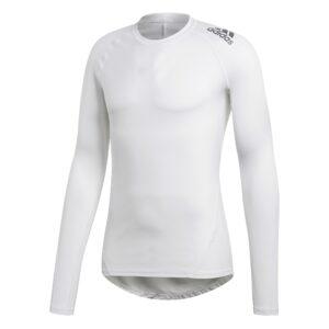 Adidas Alphaskin LS thermoshirt heren wit -