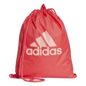 Adidas Performance logo gymtasje rood/roze -