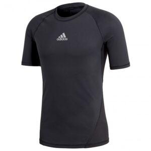 adidas AlphaSkin SS thermoshirt heren zwart -