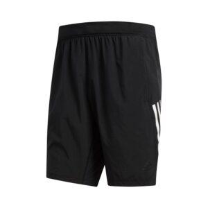 adidas 4KRFT Tech Woven 3-Stripes short heren zwart/wit -