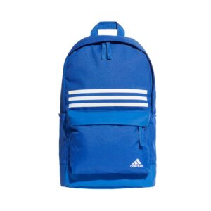 adidas Classic 3-Stripes Pocket rugtas blauw/wit -