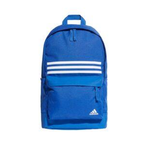 adidas Classic 3-Stripes Pocket rugtas blauw/wit -
