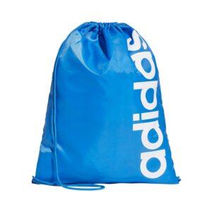 adidas Linear Core gymtasje blauw/wit -