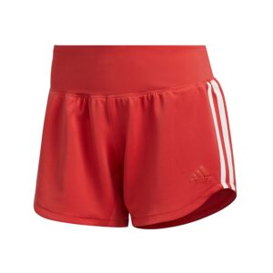adidas 3-Stripes Woven Gym short dames roze/wit -
