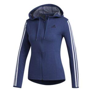 adidas 3 Stripes vest dames marine/wit -