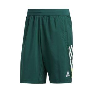 adidas 4K 9 inch short heren groen -