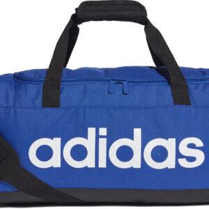 adidas Linear Duffle S sporttas unisex blauw -