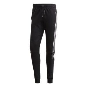 adidas 3-Stripes Tape trainingsbroek heren zwart/wit -