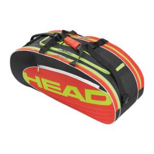 Head Elite All Court tennistas 6 rackets rood/zwart -