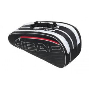 Head Elite Combi tennistas 6 rackets zwart/wit -