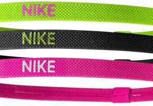 Nike Elastic Hairbands 3 Pack haarbandjes -