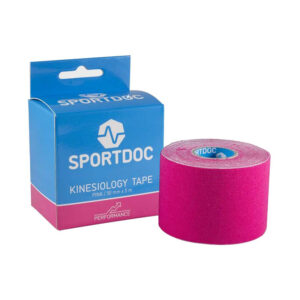 SportDoc Kinesiology tape roze -
