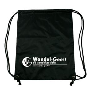 Wandel-Geest nylon tasje zwart -